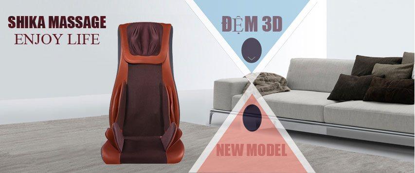 Đệm massage 4D nội thất