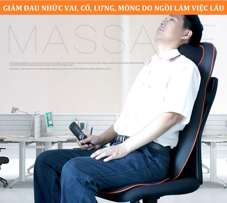 đệm masage toàn thân hồng ngoại new magic xd 801