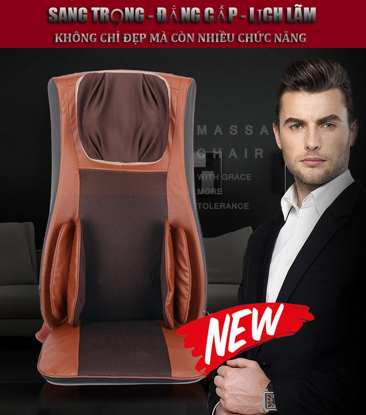 đệm massage toàn thân shika sk0518 cao cấp