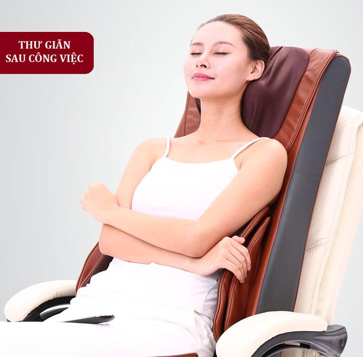 đệm masage toàn thân shika sk0518 hà nội