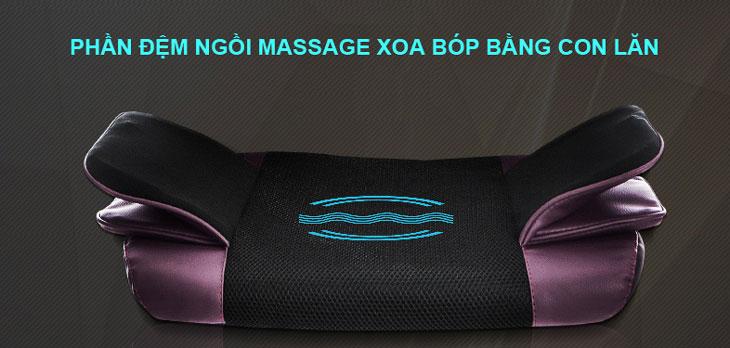 đệm matxa toàn thấn hika sk6078 massage mông