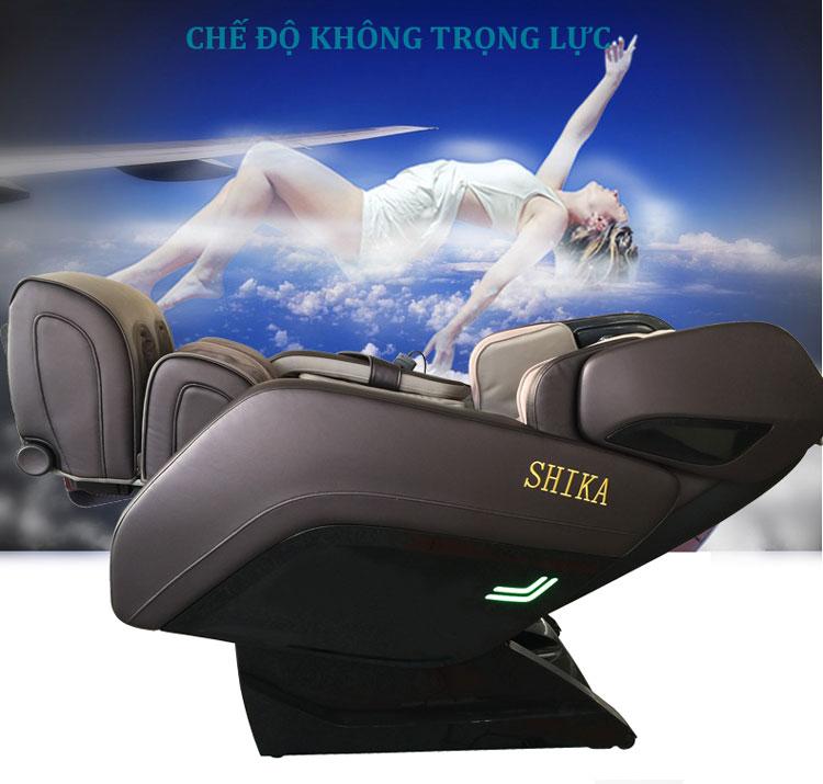 ghế massage toàn thân shika sk8918 không trọng lực