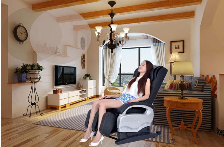 ghế matxa shika sk8900 phòng khách