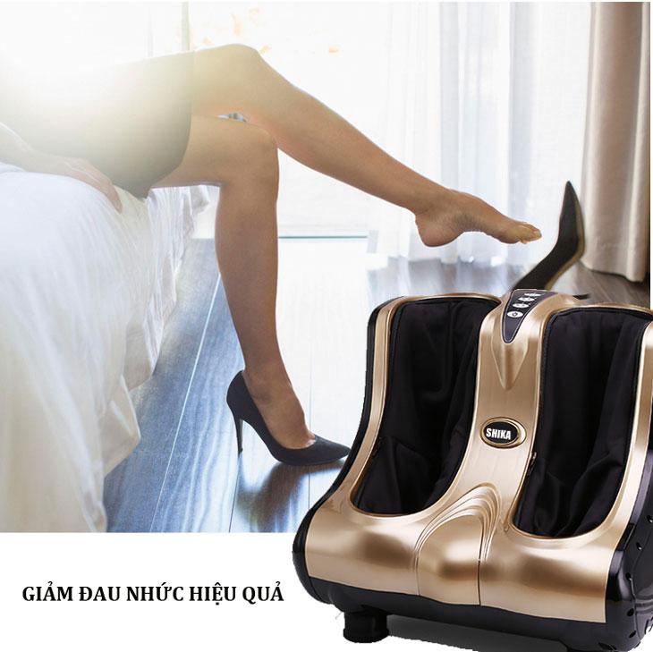 máy massage chân shika sk8911 massage sâu hơn
