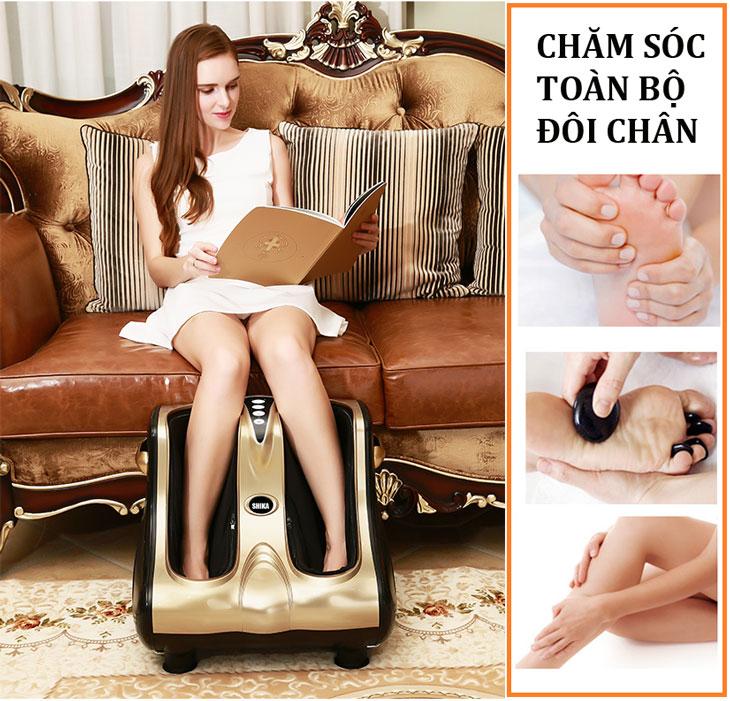 máy massage chân shika sk8911 cao cấp