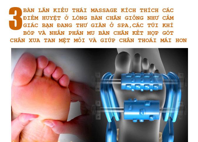 máy matxa chân shika sk0668 con lăn bàn chân