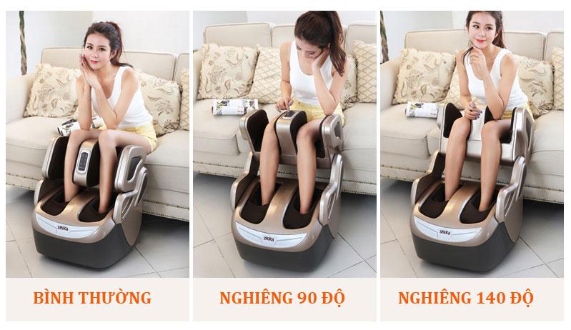 máy matxa chân shika sk0668 sử dụng
