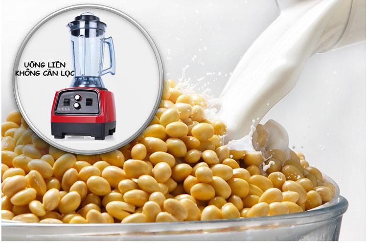 máy làm sữa đậu nành đa năng shika 2800w hẹn giờ nguyên xác
