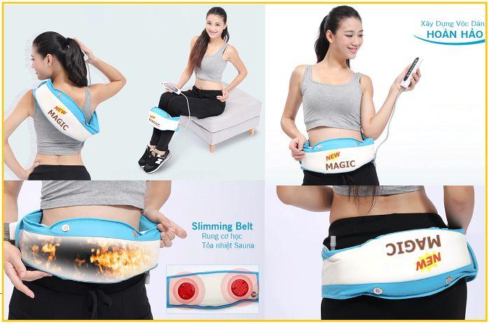 Kết quả hình ảnh cho máy massage bụng halohalo