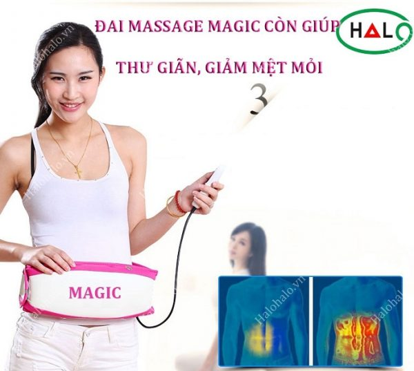 đai massage giảm béo magic