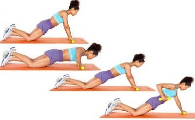 Bài tập giảm cân toàn thân với động tác Push up