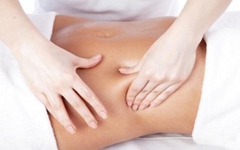 Cách matxa bụng giảm béo bằng tay