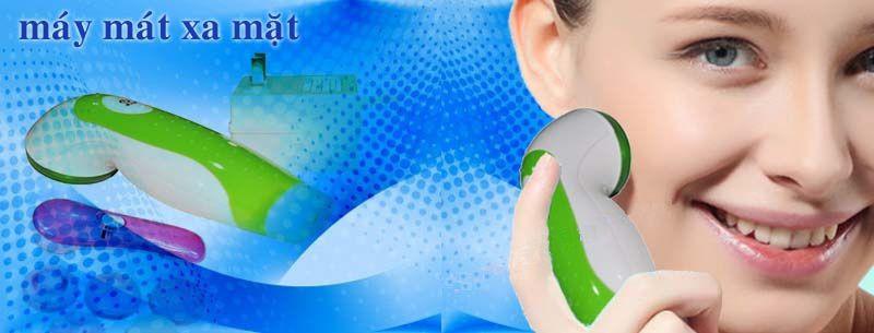 Banner máy massage mặt