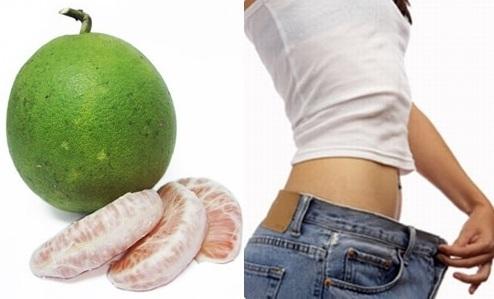 Bưởi hỗ trợ giảm mỡ bụng