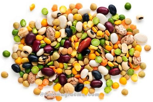 Các loại hạt đậu làm giảm mỡ bụng