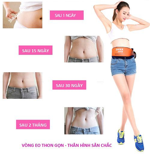đai massage bụng có thiết kế rất nhỏ gọn và tinh giản