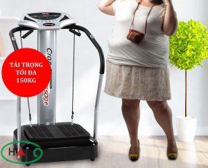 Máy tập rung giảm béo Crazy Fit đánh tan mỡ