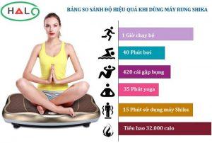 máy massage rung toàn thân shika ski
