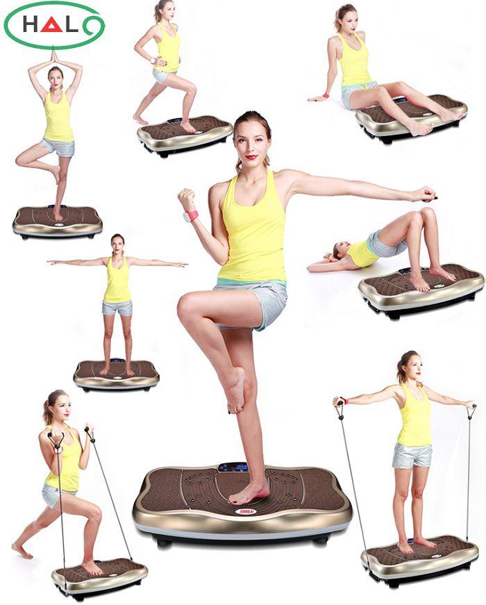 máy rung giảm béo toàn thân