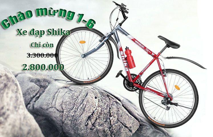 Banner Xe đạp địa hình shika nhật bản