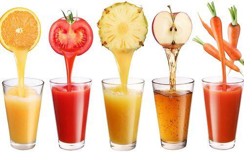 Cách làm các loại sinh tố trái cây