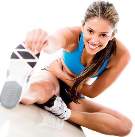 Phải khởi động thật kỹ trước khi tập gym