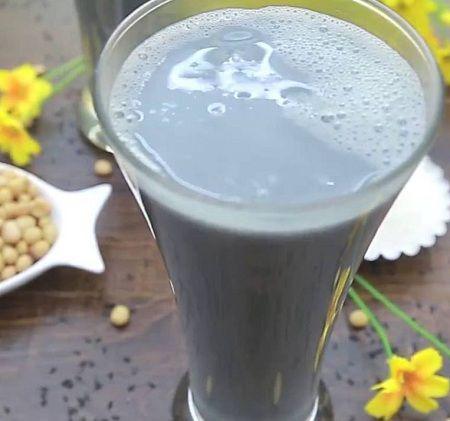 Sữa đậu nành mè đen có béo không