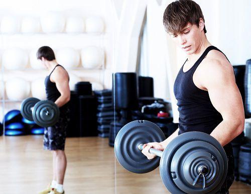 bài tập gym khó tăng dần