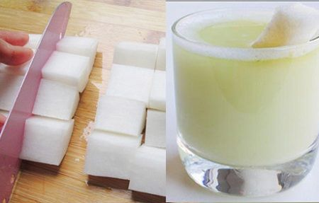 cách làm nước ép củ cải trắng 01