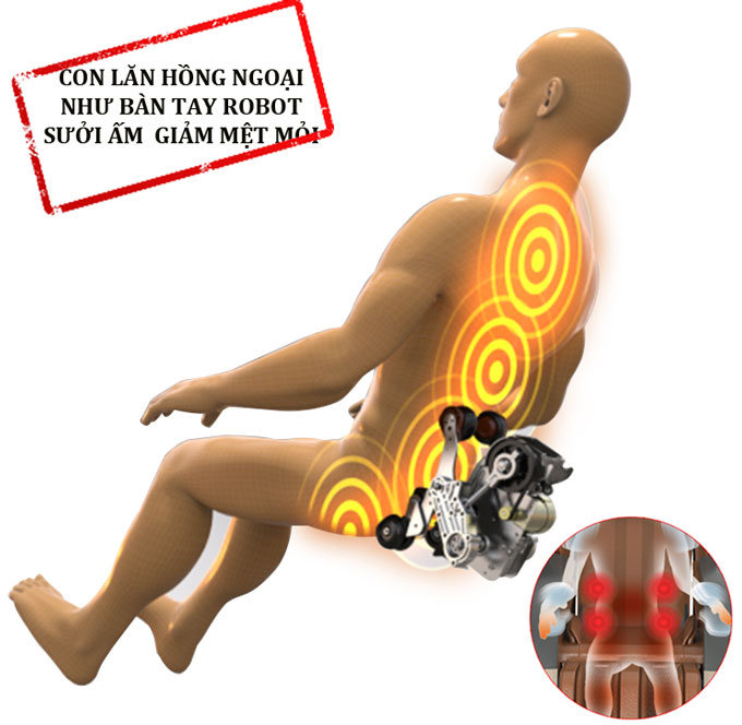 ghế massage 3d shika sk8922