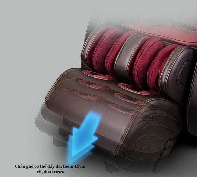 ghế matxa shika sk8918 chân ghế