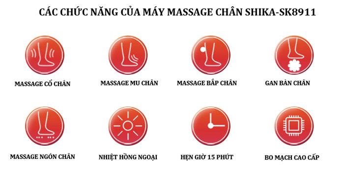 máy massage chân cao cấp shika