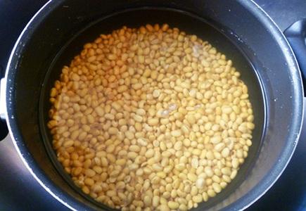 sữa đậu nành nguyên xác sơ chế