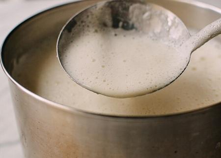 sữa đậu nành nguyên xác