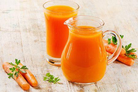 sinh tố cà rốt có tác dụng đẹp da