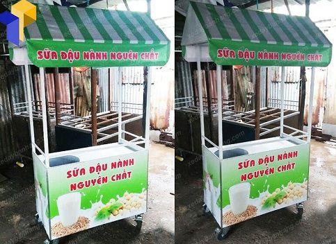 Xe đẩy bán sữa đậu nành mua ở đâu