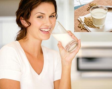 uống sữa đậu nành giảm cân