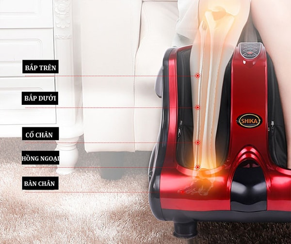 Kết quả hình ảnh cho Máy massage chân đa năng halohalo.vn