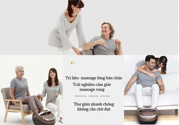 Có nên mua máy massage chân