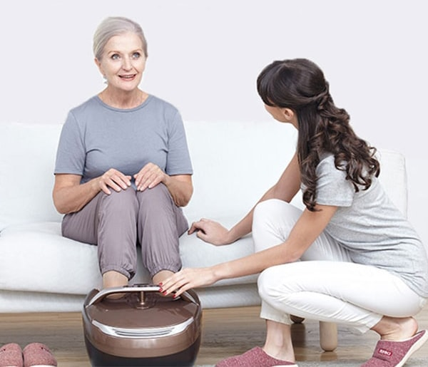 Máy massage chân cao cấp