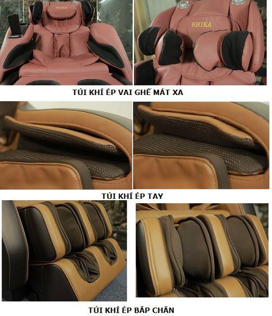 Túi khí ghế massage hoạt động như thế nào