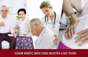 đau nhức gây mất ngủ liên tục với người già