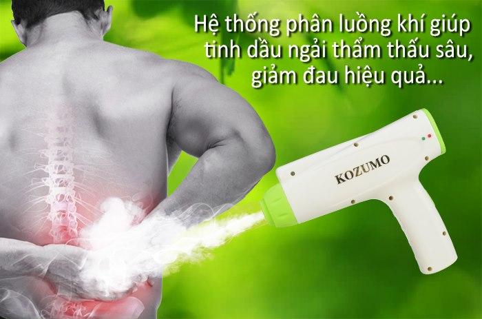 Máy cứu ngải hơ nóng giảm đau