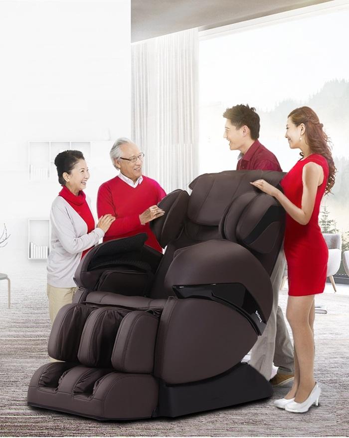 Mẹo lựa chọn ghế mát xa tốt nhất cho gia đình