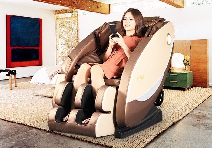 Đia chỉ mua ghế massage Shika Hà Nội chính hãng tốt nhất?
