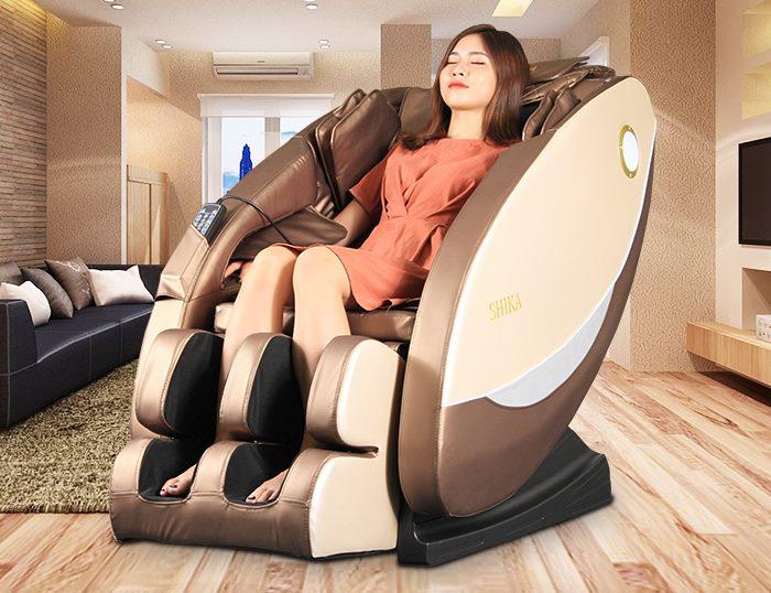 Ghế massage xoa bóp bấm huyệt chăm sóc sức khỏe