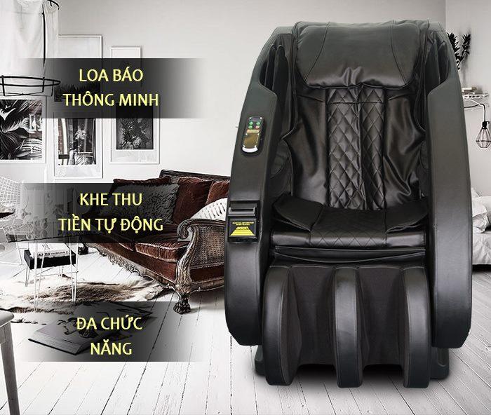 ghế massage tính tiền tự động