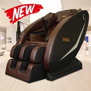 Ghế massage toàn thân Shika SK-113 Nâu