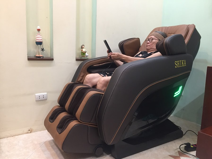Ghế massage Shika có thực sự tốt cho người cao tuổi?