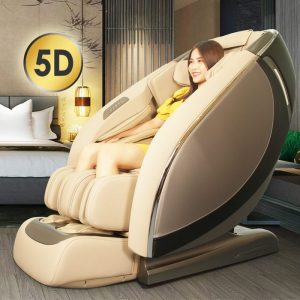 Ghế massage cao cấp 5D Shika SK-119 GREY